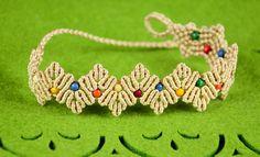 Zig-Zag Petal Bracelet