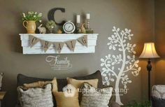 Uppercase your space!  Visit my website @ http://aprilminer.uppercaseliving.net/Home.m to orders yours today.  This cute display exhibits the Grande Leafy Tree and a 'family' expression.