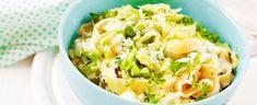 Her får du tips til hvordan du går fram - Varm salat funker veldig godt med nykål - Aperitif. Wok, Macaroni And Cheese, Cabbage, Vegetables, Ethnic Recipes, Tips, Summer, Mac And Cheese, Cabbages