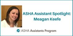 Introducing our September assistant of the month: Meagan Keefe. Meagan is from Griswold, CT and she became an SLPA because of a desire to make a difference in children's lives. She loves the ability to teach children how to communicate and witness their progress over time. Say hi to Meagan!