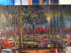 New rain painting!
