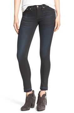 A great pair of dark denim is an absolute must for fall, and these Rag & Bone skinny jeans from the Anniversary Sale may be just the ticket!