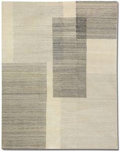 SKETCH PAD WHITE/BLACK - #TufenkianCarpets http://www.tufenkiancarpets.com/new-carpet-products/sketch-pad-whiteblack/33101/rugs.aspx