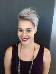 mymohawksbetterthanurs: Colored my hair!! It's... - go shorter