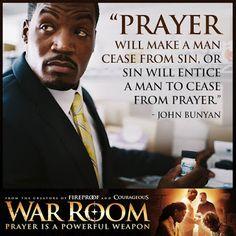 War Room: Kendrick Brothers Christian Movie/Film - Banner 7 ~ In Theaters August 2015 Prayer Closet, Prayer Room, Power Of Prayer, My Prayer, Fervent Prayer, 2017 Prayer, Night Prayer, Christian Movies, Christian Quotes