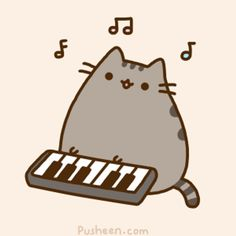 Pusheen the Cat (Pusheen)- #Pinterest #LasQueMeGusta.