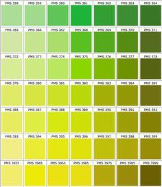 Pantone Colour Chart | Diane Mary | Pinterest | Pantone color ...