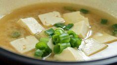 Fish Recipe: Salmon Miso Soup – All Recipes Food Cooking Network Salmon Recipes, Fish Recipes, Soup Recipes, Cooking Recipes, Pescetarian Meals, Cooking Network, Miso Soup, Food Videos, Seafood