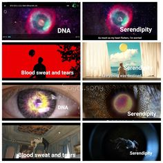 So Jimin's serendipity mv has a lot of scenes from BS&T and DNA. The one from DNA is exactly the same.