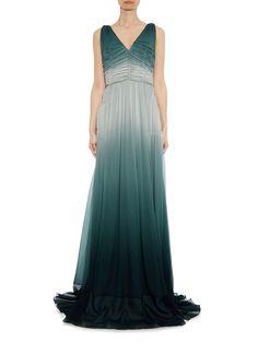 Burberry Prorsum silk gown