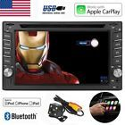 """6.2"""" Car Stereo Double 2DIN Apple Car Play DVD Player Radio Touch iPhone Carplay"""