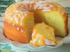 Welcome Home: ♥ Lemon Cake with Lemon Vanilla Glaze!!