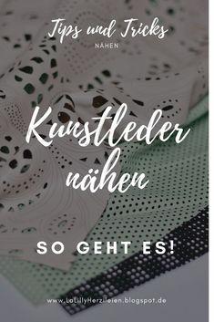 Leatherette Part 2 - Famous & Fashion! Sewing Basics, Sewing Hacks, Sewing Tutorials, Sewing Patterns, Sewing Diy, Couture Sewing, Baby Sewing, Sew Baby, Sewing Techniques