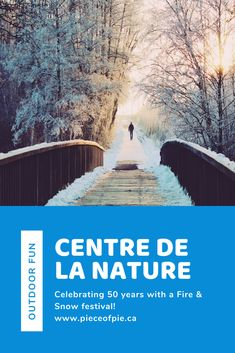 Looking for something to do outside with kids or just enjoy nature by yourself? Check out the 'Feux et flocons' festival taking place at Centre de la Nature in Laval February 15-16, 2020. The park offers a wide variety of winter activities all season, but this weekend will have live entertainment, fire eaters and more!  #centredelanature #laval #lavalgram # livelaval #monlaval #experiencelaval #familyfestival #winter