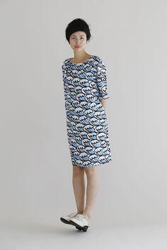 Mina Perhonen dresses http://boskybelle.com/2014/06/japanese-design-by-way-of-stockholm/