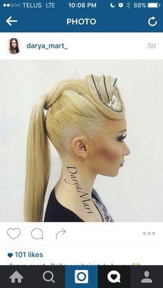 Ideas Dancing Hairstyles Dancers Pony Tails For 2019 Latin Hairstyles, Ponytail Hairstyles, Creative Hairstyles, Unique Hairstyles, Hairstyle Ideas, Ballroom Dance Hair, Competition Hair, Hair Art, Hair Designs