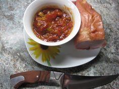 Bulharský šalát - recept   Varecha.sk Chili, Soup, Lasagna, Red Peppers, Chile, Soups, Chilis