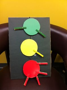 Abby the Librarian: Stoplight Sorting