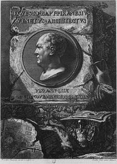 Giovanni Battista Piranesi (1720-1778) was an Italian artist famous for his hundreds of etchings of Rome. A Roman through and through (he was born and died in Rome), Piranesi captured the beauty and decay of ancient Rome in the 18th century.