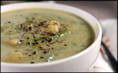 Low Sodium Asparagus Soup Asparagus Soup, One Pot Meals, Cheeseburger Chowder, Soup Recipes, Spices, Fresh, Healthy, Food, Spice