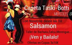 Por cuarto año consecutivo, Salsamon Dj por las fiestas de Montillana, en la caseta Taski-Botti, pinchando mi mejor repertorio y Animaciones que te harán bailar....