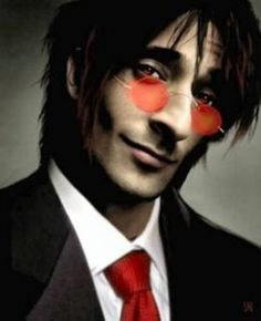 Adrien Brody as Alucard from Hellsing... Oh my god... YES!! Make this happen!!