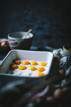 Salt cured egg yolks are the savory umami garnish you've been waiting for, and they're incredibly easy to make and so delicious! Food Photography Styling, Food Styling, Salt Cured Egg Yolk, Egg Yolk Recipes, Le Chef, Easy Family Meals, Recipes From Heaven, Breakfast Recipes, Paleo Breakfast