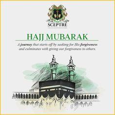 Hajj Mubarak, Giving, Eid, Forgiveness, Allah, Families, Journey, Let It Be, Poster