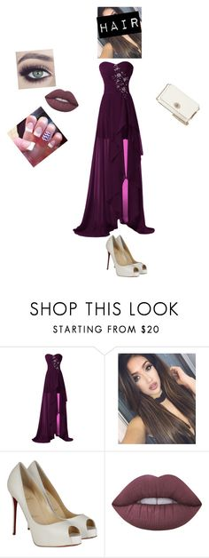"""""""Prom 2016"""" by jasmine-fry on Polyvore featuring Christian Louboutin, Lime Crime and Coach"""