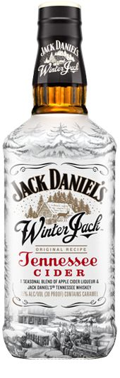 "Winter Jack | Jack Daniel's Tennessee Whiskey - ""A seasonal blend of apple cider liqueur, Jack Daniel's Old No. 7 Tennessee Whiskey and holiday spices"""