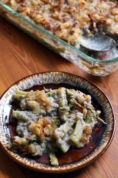 "Grean ""Bean"" Casserole - legit! (AIP, Paleo) // TheCuriousCoconut.com --> Recipe inside The Allergy-Free Holiday Table!"