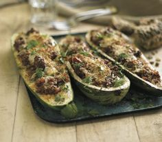Make the most of your fresh seasonal produce with our tasty recipe for Stuffed Marrow