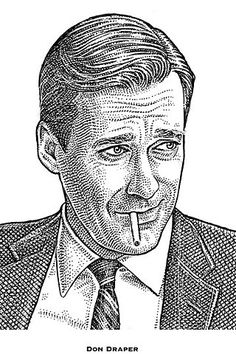 Mad Men: What Don Draper's Wall Street Journal Hedcut Would Look Like - Speakeasy - WSJ