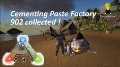 ARK Survival Evolved Beelzebufo Cementing Paste Factory