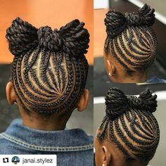 Braids for Kids – 50 Splendid Braid Styles for Girls Little Girl Braids, Braids For Kids, Girls Braids, Natural Hairstyles For Kids, Kids Braided Hairstyles, Black Hairstyles, Braid Styles For Girls, Kid Styles, Curly Hair Styles