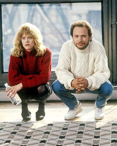 Weird fetish for this upper middle class New York 80s fashion. Crystal's jumper like, moves me. When Harry Met Sally (1989)