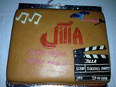 wow jilla success party cake:) yipee:)