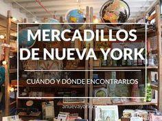 Los mejores mercadillos de Nueva York: fechas y mapa