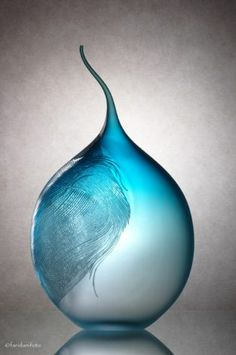 blown glass by June Pham