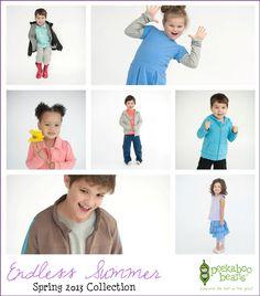 Peekaboo Beans Blog: Spring 2013 Collection - Endless Summer.  Shop at www.peekaboobeans.com - playwear for kids on the grow!