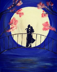 A personal favorite from my Etsy shop https://www.etsy.com/listing/295158063/moonlight-kiss
