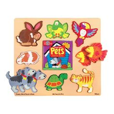 TS Shure Chunky World My Favorite Pets Puzzle  Book * Details can be found by clicking on the image. (Note:Amazon affiliate link)