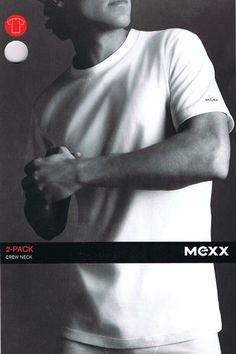 Kleding 2 ronde hals heren shirts Mexx  Twee elastische Mexx T-shirts met ronde hals. Met korte mouwen gemaakt van 100% katoen.  EUR 11.97  Meer informatie