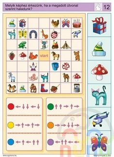 Logico feladatok Ovisoknak - Katus Csepeli - Picasa Webalbumok Educational Games For Kids, Kids Learning, Kindergarten Activities, Preschool Activities, Visual Perception Activities, Sequencing Cards, File Folder Activities, Halloween Math, Grande Section