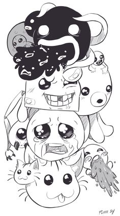 Would love to do something like this with the familiars in the binding of isaac
