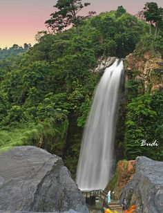bojong koneng waterfall - bogor - west java - Indonesia