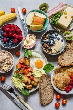 5 lunsjforslag til neste uke - Ida Gran Jansen Granola, Cobb Salad, Cheese, Cooking, Amazing, Food, Kitchen, Essen, Meals