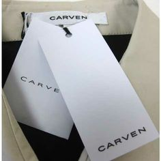 Carven Garment Label and Hang Tag