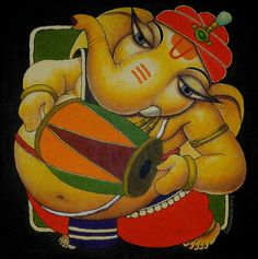 Ganesha by Surendra Pal Singh Lord Ganesh Om Gam Ganapataye Namaha