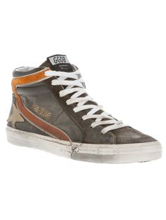 Golden Goose Slide hi top